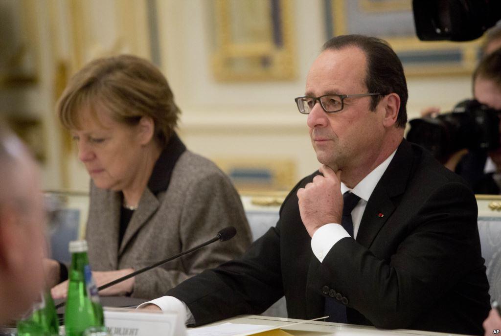 Меркель, Оланд