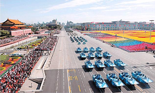 На параде Победы в Пекине пройдут иностранные войска