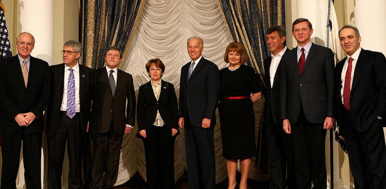 Встреча Байдена и оппозиции РФ