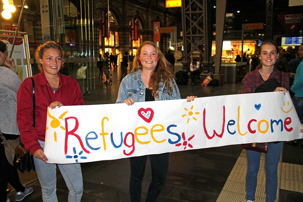 Революции и беженцы связаны одной цепью с Европой — Добро пожаловать Беженцы