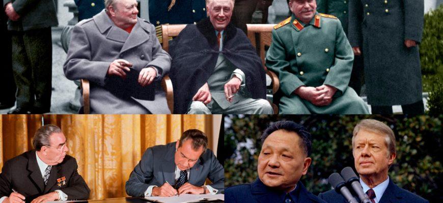 Лидеры самых могущественных Империй мира